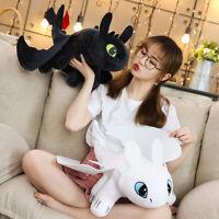 Toothless Anime Figure Night Fury Light Fury Toys Dragon 3 Plush Doll Toys Child