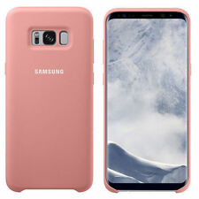 Ultra dünne Strong Silky Soft Touch Samsung Galaxy S8+ Silikon Cover Case-pink