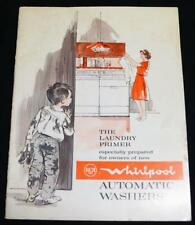RCA WHIRLPOOL AUTOMATIC CLOTHES WASHER APPLIANCE OWENERS MANUAL 1965 VINTAGE