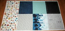 2 yd Panel Hoffman AROUND TOWN 100% Cotton Fabric GOURMET QUILTER News Stores