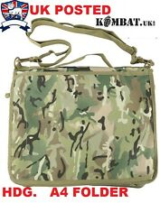 ARMY A4 NIREX ORDERS NOTE BOOK FOLDER HOLDER MULTICAMO BTP MTP MAP BREIF CASE