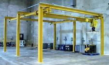 2 Ton Gantry Crane / Workshop crane / 6 m x 3 m /complete with Demag chain hoist