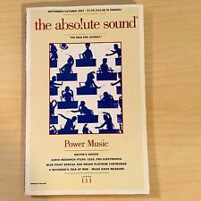 The Absolute Sound Volume 21 Issue 111, 1997 TAS ARC PH3 LS15 Tube Amp Review