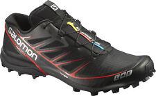 Salomon S-Lab Speed Trail Running Shoes Black Mens Womens Unisex UK 4 - 11