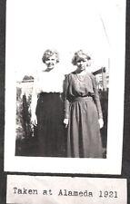 VINTAGE 1921 ALAMEDA CALIFORNIA SAN FRANCISCO OAKLAND YOUNG GIRLS FASHION PHOTO