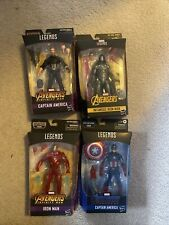 Marvel Legends Avengers Infinity War: Iron Man Set Of 4 Marvel Figures