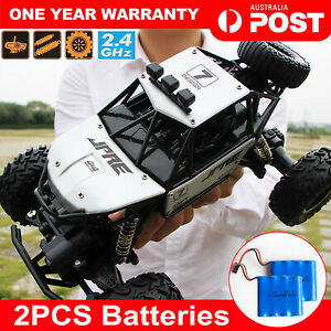 4WD Electric Remote Control RC Monster Truck 2.4G Offroad Vehicle Buggy Kids Toy