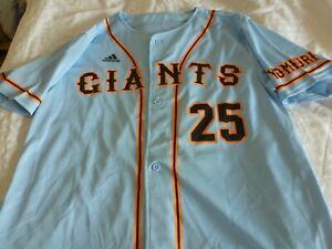 NEW ADIDAS Japan TOKYO YOMIURI GIANTS Baseball Jersey SKY BLUE, MEDIUM