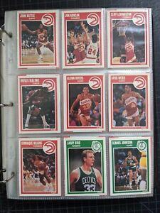 1989-90 + 1990-91 Fleer Near Complete Basketball Sets 460+ Cards- w/o Jordan