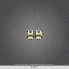 07185 Pagani Bicycle Head Badge Stickers - Decals - Transfers