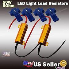2 pcs 50w 6Ohm Load Resistor Fix LED Turn Signal Fast Flash Blink OBC No Error