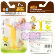 EDISON Select Toddler Baby Banana Teether Training Toothbrush - Made in Korea