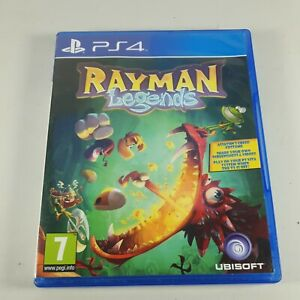 Rayman Legends Playstation PS4 Platformer Video Game Manual PAL