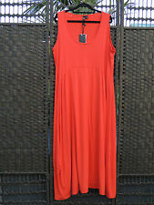 TS 14+  Kore Sunkiss Maxi Dress Poppy Orange S  BNWT $129.95