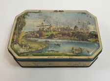 Vintage Lovell's Toffee Rex Tin Windsor Castle Rare Collectable 1940s