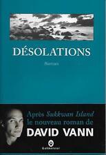 LITTERATURE / DESOLATIONS - DAVID VANN - GALLMEISTER - NEUF !