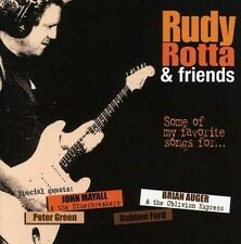 Rudy ROTTA & Friends-some of my favorite... CD NUOVO Peter Green John Mayall