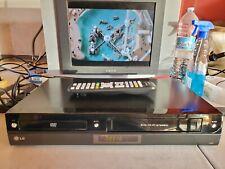 VIDEOREGISTRATORE VHS-DVD COMBINATO LG V390 NUOVO EX DEMO NEGOZIO CON TELECOMAND