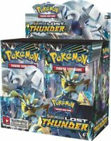 Pokemon TCG x4 Booster Packs Lost Thunder 1/9 Booster Box Unsearched SKU#257