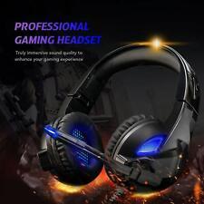 Rimila Stereo Gaming Headset Noise Cancelling Over Ear Headphones