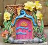 Fairy House Planter Pot basket garden ornament decoration Pixie lover gift