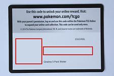 1 x Pokemon Code Card - Giratina 3-pack blister - Online TCGO