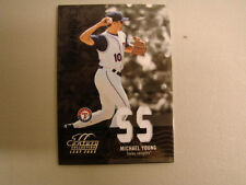 2005 Leaf Century Michael Young Jersey Card (B80) Texas Rangers # 57 of # 250