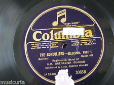 78rpm GEORGE MILLER GRENADIER GUARDS BAND gondoliers selection 3065R