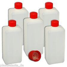 5er Set 500 ml Plastikflasche Deckel  Spritzeinsatz  Kunststoffbehälter  Flasche