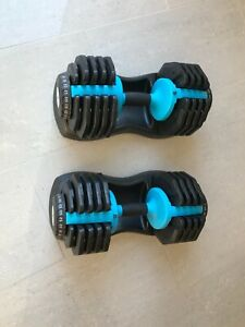 Mens Health Adjustable Dumbbells 2 x 25KG (Pair)