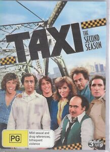 TAXI - The 2nd Second Season 2 (3 x DVD Set) NEW & SEALED Free Post + Tracking