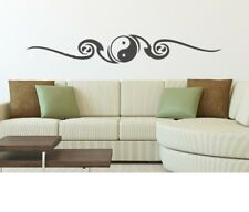 Ying Yang Yoga Indien Krishna Wandtattoo Wallpaper Wand Schmuck 76 x 11