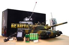 Heng Long 1:24 DEFENSE FORCE TYPE 90 Radio Remote-Control RC Airsoft Battle Tank