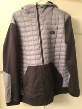 North Face Thermoball Kilowatt Hoodie Jacket Coat Grey Gray Mens XL FREE SHIP