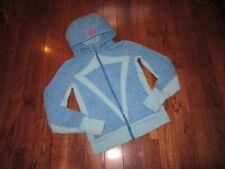 Lululemon Ivivva Remix Hoodie jacket glen check angel blue porcelaine Size 14.