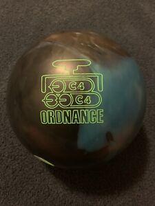 Global 900 Ordnance C4 Bowling Ball 15lbs USED