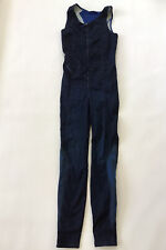 Diesel Women's JoggJeans Division Jumper Overalls In Blue Size XS