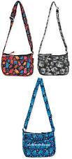 Laurel Burch Smalll CrossBody Bag Multi Feline OR Polka Dot Cats RETIRED New