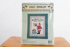 Daisy Kingdom Bucila 82885 I Believe In Santa Claus Counted Cross Stitch - New