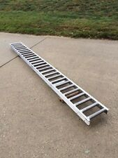 """Stainless Steel Gravity Roller Conveyor - 12"""" x 120"""" Section"""