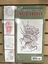 Pablo Barada Tattoo Sketch Book 100 Pages Brazilian Artist Classic And Oriental