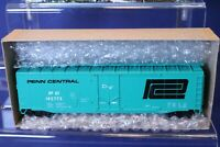 RTR 50' PD Box Car from Kit / Penn Central RR / HO Scale 1327