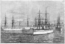 MUMBAI. Troop-ships Orontes, Yamuna, Malabar, and Euphrates; Afghan war, 1880