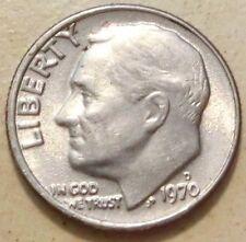 EE. UU. roosevelt dime 1970 D