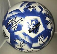 Montreal Impact 2018 team signed Size 5 Adidas Logo Soccer Ball Ignacio Piatti