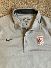 Nike Dri Fit Golf Polo Shirt Fresno Grizzlies Baseball MiLB L No Flaws
