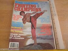 Fighting Champion 1977 Joe Lewis Howard Jackson Flem Evans magazine Karate