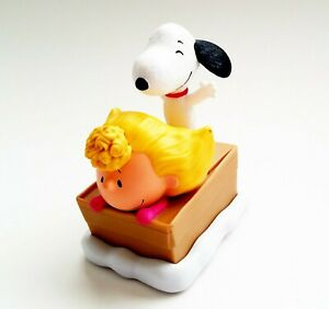 Peanuts Movie Sally and Snoopy toy McDonalds 2015.