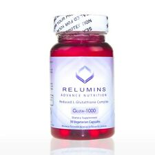 NEW Relumins Advance Gluta 1000- 30 Capsules - AMAZING GLUTATHIONE PILLS! SAVE$$