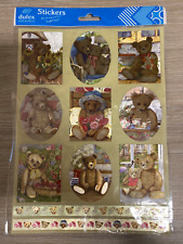 DUFEX Foil Stickers - Teddy Bears (242559) ** MULTIBUY OPTIONS AVAILABLE **